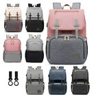 Maternity Diaper Bag USB Mommy Nappy Baby Care Backpack Fashion Travel Nursing