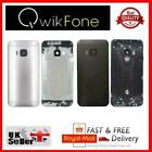 HTC+One+M9+Rear+Back+Battery+Housing+Cover+Black+Replacement