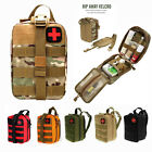 Tactical MOLLE Rip Away EMT Medical Pouch IFAK First Aid Kit Emergency Gear Bag