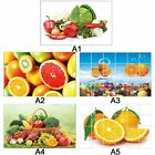 Kitchen Waterproof Anti Oil Wall Stickers Wall Paper Removable Tile Home Decor