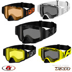 New 2021 FXR Maverick Snowmobile Motorcycle Goggle Black Ops Orange Hiviz White