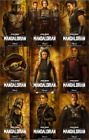 The Mandalorian Season 2 Metal Poster Print Set Baby Yoda Grogu Star Wars