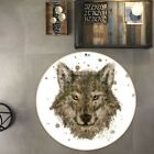 3D Watercolor Gray Wolf NAO4732 Game Rug Mat Elegant Photo Carpet Mat Fay