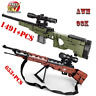 Army Military Bricks Building Blocks Sniper Rifle Model Weapon Gun For Kids Toy