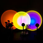 The Sun Never Sets LED Lamp Rainbow Sunset Projection Table Lamp USB 1.2M Wire