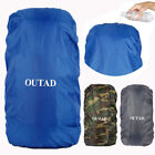 Protable 300D Oxford Fabric Waterproof Backpack Travel Outdoor Camping Dust Pf
