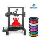 Longer LK4 Stampante 3D FDM + 1.75mm Filamento PLA con Touchscreen da 2,8