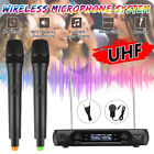 Wireless Microphone System UHF2 Cordless Handheld Party KTV Player Singing Mic
