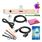 Apple iPhone Lightning Dock Bundle with 3.5mm and USB Extension Cables