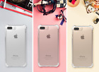 iPhone 7 Plus Clear Case Hybrid Scratch Resistant Cover Bumper Soft Shockproof