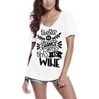 ULTRABASIC Women's T-Shirt There's a Chance This is Wine - Short Sleeve Tee Shir