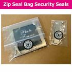 Gift Bag / Zip Seal Packaging Security Seals - Choose Your Sticker Size
