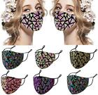 Beautiful Face Mask Nose Mouth Protective Covering Washable Reusable Unisex