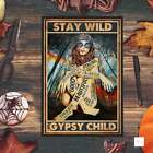 Stay Wild Gipsy Child Poster, Hippie Girl Poster, Funny Poster