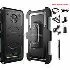 For Motorola Moto Z2 Play/Force/ Z3/Z4 Clip Holster Phone Case Cover Accessories