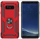 Samsung Galaxy Note 8 Case Anti-Scratch Heavy Duty Premium Quality Cover RED NEW