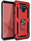 Samsung Galaxy S9 /S9 Plus Case Heavy Duty Kickstand Rugged Shockproof Cover RED