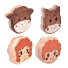 Wooden Milk Teeth Storage Box Baby Hair Keepsake Teeth Save Case Container
