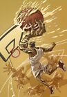 +2 poin -NBA Super Star Art Derco -Basketball Poster-Poster Print