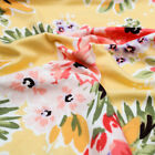 Medium Floral Pattern Printed Double-Sided Brushed DTY Fabric - Style P-2402-668