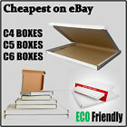 White Royal Mail PIP Large Letter Boxes, Cardboard Postal Mailing Boxes C4 C5 C6