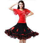 High Quality Dance Performance Wear Costume Ballroom Square Dance Set Outfits