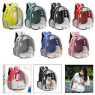 Deluxe Pet Carrier Dogs Backpack Capsule Transparent Breathable Handbag