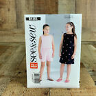 Butterick B4161 Girls Top Dress Shorts Pattern 7-14 Or 10.5-16.5 SEE & SEW