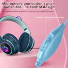 Stereo Sound With Microphone Gift RGB LED Light Wired Gaming Headset Lightweight