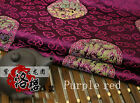 Chinese Ancient Costume Pillow Brocade Fabric Dragon Clouds Damask Cushion Cloth