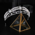 4.8cm High Crystal Pearl Tiara Crown Wedding Bridal Party Pageant Prom 2 Colors