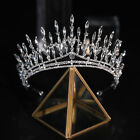 7.5cm High Crystal Luxury Tiara Crown Wedding Bridal Party Pageant Prom 2 Colors