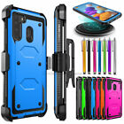 For Samsung Galaxy A11 A21 Phone Case, Shockproof Holster Belt Clip Cover