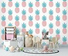 3D Pink Pineapple 19782NA Wallpaper Wall Murals Removable Wallpaper Fay
