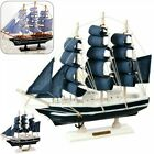 Bedroom Sailing Ship Ornament Canvas Home Wooden Decoration Accessories
