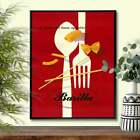 Mid Century Italian vintage cheese advertising poster, Poster, Vintage Poster