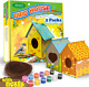Bird House Kits for Children to Build with Nests 2 Pack Kids Gardening new photo