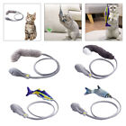 Manual Control Flopping Fish Cat Toys Catnip Pet Interactive Playing Toy