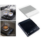 New Black Mirror Basic Coffee Scale Coffee Weighing Panel 2Kg Backlight
