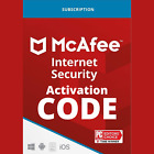 McAfee Internet Security 2021 Unlimited Device 1 to 3 Year Global License Key