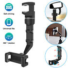 360° Rotation Car Rear View Mirror Mount Holder Stand  for iPhone Android Phone