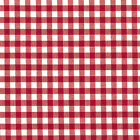 YARN DYED COTTON FABRIC SOLID & GINGHAM CHECK PLAID RED