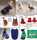 NWT Zack and  Zoey Dog Dress - Vest- Coat- Sweater- Tee