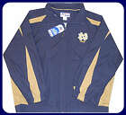 NOTRE DAME FULL ZIP LINED TRACK JACKET BIG & TALL SIZES