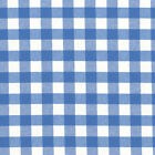 CHAMBRAY YARN DYED COTTON FABRIC CLOTH BEDDING VINTAGE MATCHING CHECK STRIPE 44""