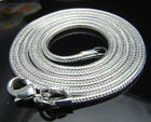 "WHOLESALE 20PCS SILVER SNAKE CHAIN Men's Women's NECKLACE 16""-24"",2mm"