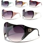 D.G DESIGNER LADIES WOMENS SKI SKIING LARGE OVERSIZED UV400 BIG BLACK SUNGLASSES