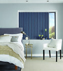 "SOLUTIONS vertical blinds SLATS LOUVRES 89mm 3.5"" black red lime purple"