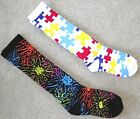 NEW! Fireworks or Puzzle SOCKS 4 Cleats 12-13-2-3-5-6
