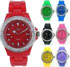 Prince London coloured plastic toy style jewelled watch